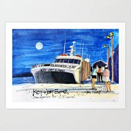 Key West Express Art Print
