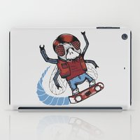 mcfly iPad Cases featuring Marty McFLY by Timo Ambo