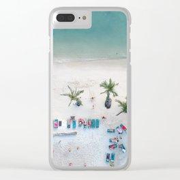 Aerial Koh Phangan Beach Clear iPhone Case