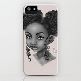 Puffs and Curls iPhone Case