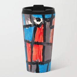 The Hour Before One Night by Paul Klee, 1940 Travel Mug