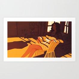 A Morning Affair Art Print