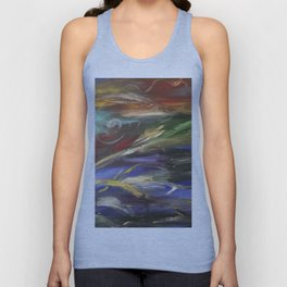 Colors in the Wind Unisex Tank Top