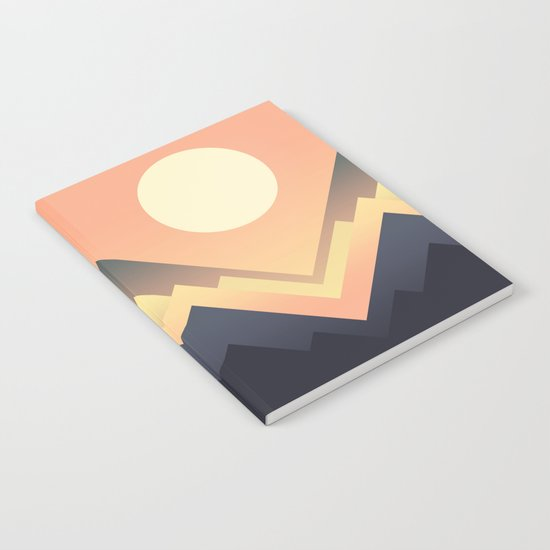 The Sun Rises Notebook