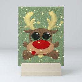 Baby Reindeer Mini Art Print