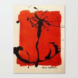 tu corazón (mi ancla) Canvas Print