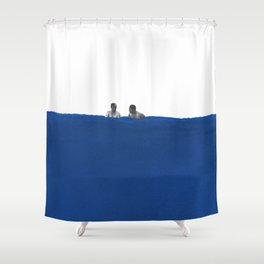 Cool in the Pool Shower Curtain