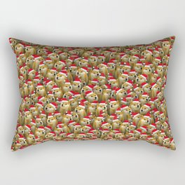 Christmas doge Rectangular Pillow