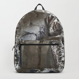 Silver Crystal First Backpack
