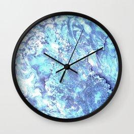 Arctic Sheen Wall Clock