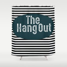 The Hang Out Shower Curtain