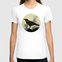 crow T-shirts featuring Crow by Arts and Herbs
