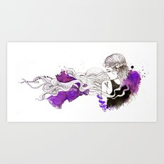 Hotcouture Art Print