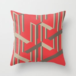 Illusion - Exploration Throw Pillow