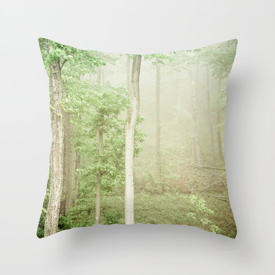 The Marvel of Ordinary Things Throw Pillow