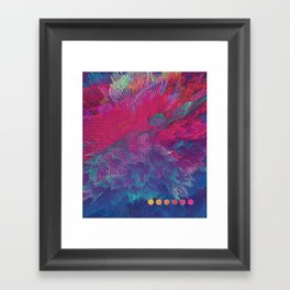 VI Framed Art Print