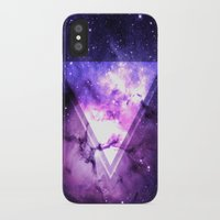 outer space iPhone & iPod Cases featuring Outer Space by Erick Navarro