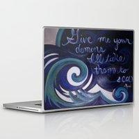 inner demons Laptop & iPad Skins featuring Demons by carolinenoelle
