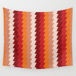 Rusty Ziggies Wall Tapestry