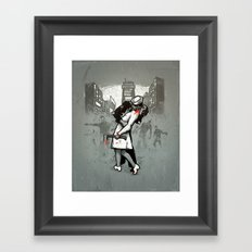 Zombies Framed Art Print