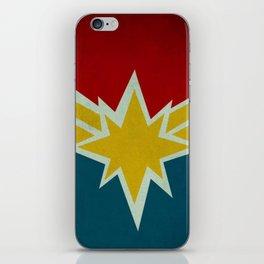 Modern CaptainMarvel iPhone Skin