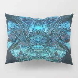 Digital Painting - Crystal Sequence to a Spiritual Core Pillow Sham