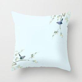 Chirpy Throw Pillow