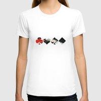 poker T-shirts featuring poker by yahtz designs