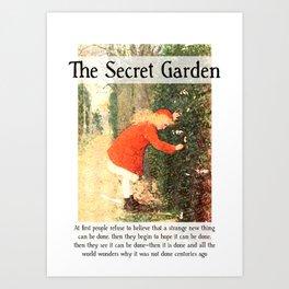 The Secret Garden Artwork Art Print