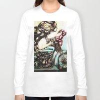 moto Long Sleeve T-shirts featuring Moto D by Mo Baretta