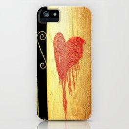 Bleeding Heart iPhone Case