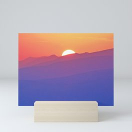 Follow the Sunset Mini Art Print
