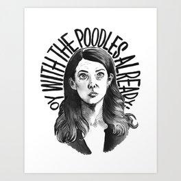 Lorelai Gilmore Art Print