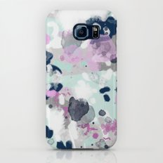 Berti - abstract minimal trendy color palette hipster home decor Galaxy S8 Slim Case