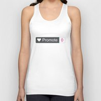 large Tank Tops featuring Promote large by lazylaves