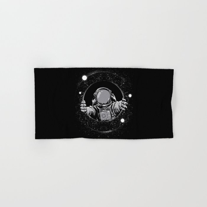 Black Hole Hand & Bath Towel