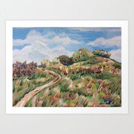 Towards Cuilcagh Art Print