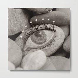 Stone eye Metal Print