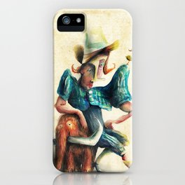 Petit Mamut iPhone Case