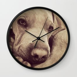 Dogs are Family Wall Clock