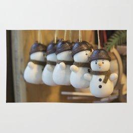 Ickle Snowmen Rug