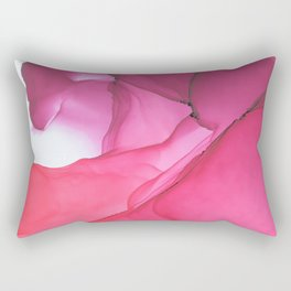 Red impression 1 Rectangular Pillow