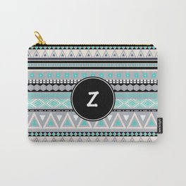 Monogram Tribal Pattern *Z* Carry-All Pouch
