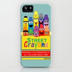 Color Me Sesame Slim Case iPhone (5, 5s)