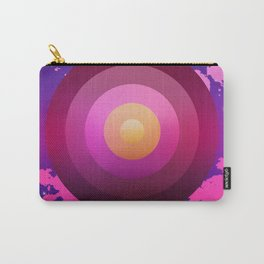 Space Circles Carry-All Pouch