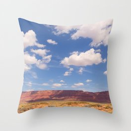 Desert Sky, Fine Art Photography Throw Pillow