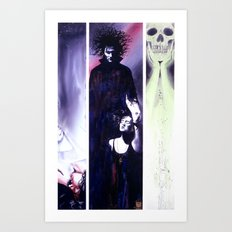 Sandman: Triptych Art Print
