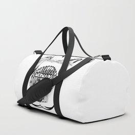 Mermaids Are Real Duffle Bag