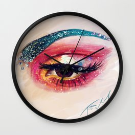 The Colors of the Galaxy Wall Clock