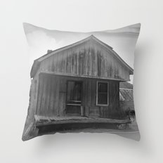 The Good Old Shack Throw Pillow